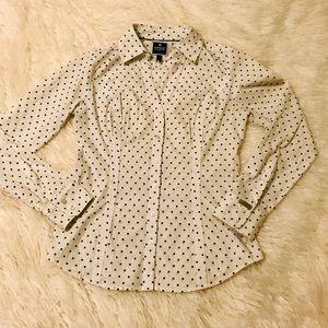Express Essential Button Up Dress Shirt